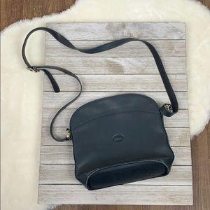 Longchamp Blue Crossbody Leather Bag